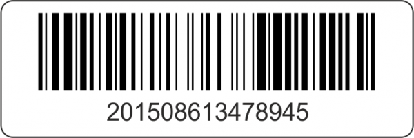 Barcode-Etiketten 60x20 mm